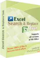 TheSkySoft – Excel Search and Replace Tool Coupon Discount