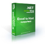 15% OFF – Excel To Html .NET – Developer License LITE