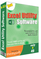 TheSkySoft – Excel Utility Software Coupons
