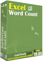 Excel Word Count Coupon Sale
