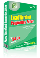 Excel Workbook Properties Editor Coupon Code