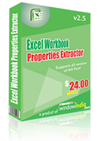 Excel Workbook Properties Extractor – 15% Discount