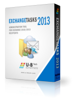 U-BTech Solutions Exchange Tasks 2013 – Unlimited Mailbox License Coupons