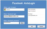 15% – Facebook AutoLogin