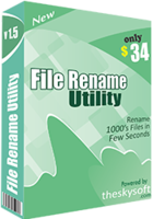 Exclusive File Rename Utility Coupon