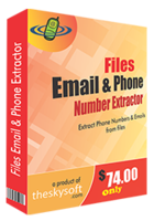 Files Email and Phone Number Extractor Coupon Code 15%