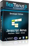 15% Off FlexiMenuJS for Dreamweaver – Developer Edition – 1 Website 1 User Coupon Sale