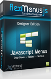 FlexiMenuJS for Dreamweaver bundle – Designer Edition – 3 websites 1 user – 15% Discount
