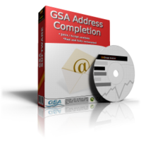 GSA Software GSA Address Completion Coupons