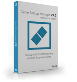 Genie Backup Manager Professional 9 – 5 Pack Coupons