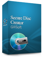 Gilisoft Secure Disc Creator  – 50 PC / Liftetime free update Coupon Code