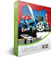 Hollywood Vector Pack – VectorVice – 15% Sale