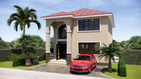 Arqui3D House Plan 001 (Plans Only) Coupon