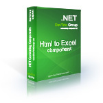 Html To Excel .NET – Update – 15% Sale