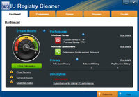 Exclusive IU Registry Cleaner – (3 PCs License) Coupon