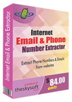 Internet Email and Phone Number Extractor – 15% Sale