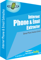 Internet Phone and Email Extractor Coupon