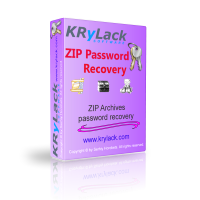 KRyLack ZIP Password Recovery – 15% Discount