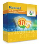 Kernel for Notes Contacts to Outlook – Corporate License – Unique Coupons