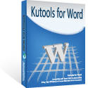 Kutools for Word Coupon Code – 25%