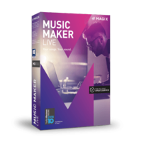 MAGIX Music Maker Live – Latest Version – 15% Sale