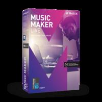 MAGIX Music Maker Live – Latest Version – 15% Sale