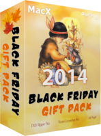 MacX Black Friday Gift Pack Coupon