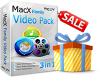Amazing MacX Family Video Pack Coupon Discount