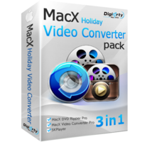 Digiarty Software Inc. MacX Holiday Video Converter Pack (for Windows) Coupon