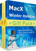 MacX Winter Holiday Gift Pack (for Windows) – Premium Coupons