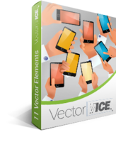 VectorVice.com Mobile Demo Vector Pack – VectorVice Coupon Sale