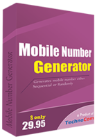 Mobile Number Generator Coupon