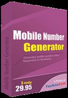Technocom – Mobile Number Generator Coupons