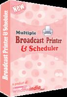Multiple Broadcast Printer N Scheduler Coupon