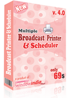Multiple Broadcast Printer N Scheduler Coupon