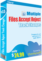 Multiple Files Accept & Reject Track Changes Coupon