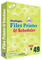 Special Multiple Files Printer and Scheduler Coupon Sale