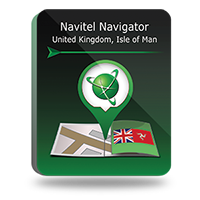 "Navitel Navigator. ""Great Britain Isle of Man"" Win Ce Coupon"