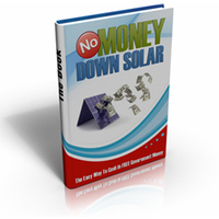 No Money Down Solar Coupon