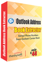 TheSkySoft Outlook Address Book Extractor Coupon
