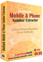 Outlook Mobile and Phone Number Extractor Coupon Sale