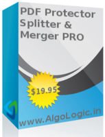 AlgoLogic PDF ProtectorSplitter and Merger PRO Coupons