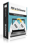 PDFtoTxt Converter Coupons 15% Off