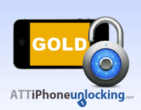 Permanent Factory Unlock for AT&T iPhone – GOLD – 1-7 Business days Coupons