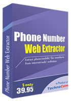 Phone Number Web Extractor Coupons