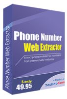 Phone Number Web Extractor Coupon Code 15% OFF