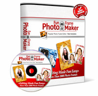 15% off – Photo Fun Frame Maker 2014 with Triple Bonus Package
