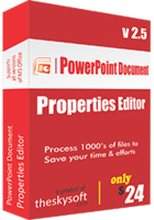 TheSkySoft – PowerPoint Document Properties Editor Coupons