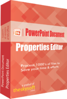 PowerPoint Document Properties Editor Coupon Code
