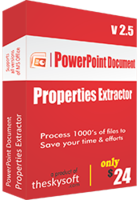 TheSkySoft PowerPoint Document Properties Extractor Coupon